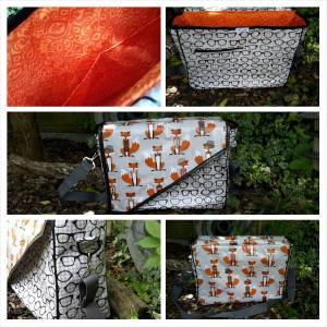 Large fox change bag